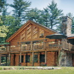Log Cabin Homes Interior Traditional Element The