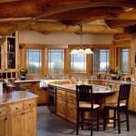 Log Cabin How Able Work Interior Design