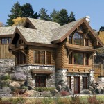 Log Cabin Style House Floor Plans Home Plan Design