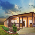 Log Cabin Style Manufactured Home Tyler Homes For Sale