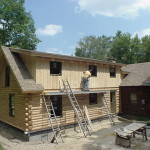 Log Home Additions American Care