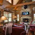 Log Home Barn Wood And Western Decor
