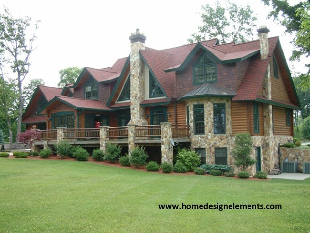 Log Home Barna Traditional Exterior Other Metro