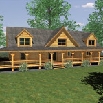 Log Home Blog Honest Abe Custom Floor Plan Marshall