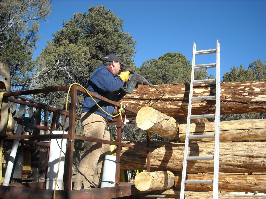 Log Home Building The Butt And Pass Way