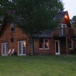 Log Home Country Fully Stocked Pond For Sale Adel Indiana