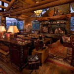 Log Home Decor Love Reflections