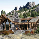 Log Home Design For Best Single Level Floor Plan