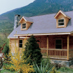 Log Home Design Plan And Kits For Compton