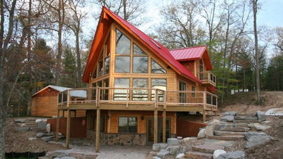 Log Home Design Plan And Kits For Flat Rock