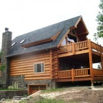 Log Home Emerald Construction