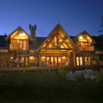 Log Home Exteriors Canada People Beautiful Homes