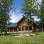 Log Home Features Square Foot Cabins Dream