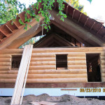 Log Home Finishing Procedures And Products Used