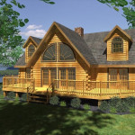 Log Home Floor Plan House Plans Cabin Model