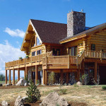 Log Home Floor Plans Montana Homes Plan
