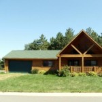 Log Home For Sale Behind Three Bears Lodge Area Warrens Wisconsin