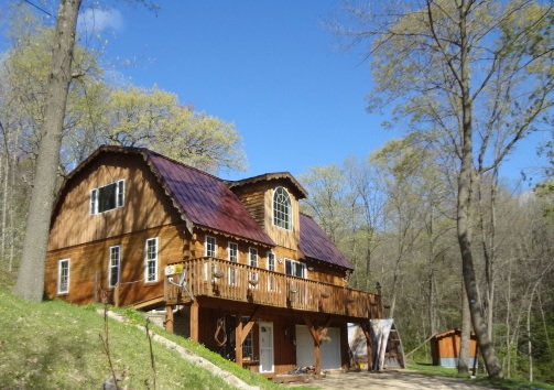 Log Home For Sale Monroe County Cashton Wisconsin