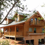 Log Home Franklin Which Will Available For Sale Call