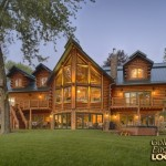 Log Home Golden Eagle Homes Lakeside View
