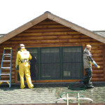Log Home Maintenance Programs And Inspections Cleaning