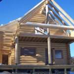 Log Home Maintenance Real Style