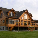 Log Home Models Citadel Iii Model From True North Homes