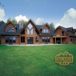 Log Home Models Huntingford Model From True North