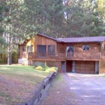 Log Home Nestled The Pines Mccrea Tweed For Sale