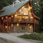 Log Home Packages Timber Homes Contemporary New Small
