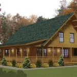 Log Home Plan Details Hamilton