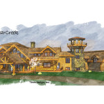 Log Home Plans Large Homes The Bearcreek Floor Plan