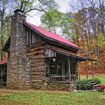 Log Home Renfro Valley Graph Anne Kitzman