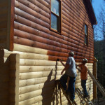 Log Home Repair And Restoration Services Loghome