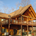 Log Home Restoration What Difference Procedure Can Make Dann