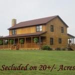 Log Home Situated Acres For Sale Reidsville North Carolina