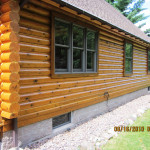 Log Home Stain Cabin Finish
