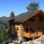 Log Home That Was Built Out Kit Visit Our Student