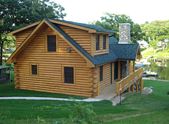 Log Home Trout Rest Tour Expedition Homes Llc