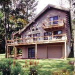 Log Home Vermont Real Homes Since Custom