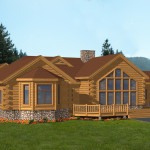 Log Home Whitetail Cove Expedition Homes Llc
