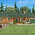 Log Homes And Home Floor Plans Cabins Golden Eagle