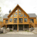 Log Homes And Timber Home Show Block Ecological