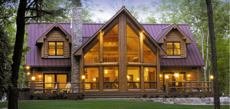 Log Homes Cabins And Home Floor Plans Wisconsin