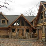 Log Homes Canada The Rose Loghome