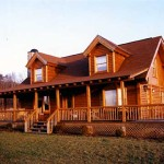 Log Homes Cedar Knoll Plans Kits And Manufactured White