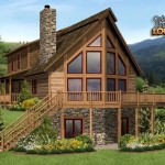 Log Homes Floor Plans From Montana