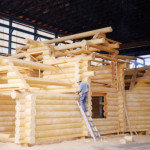 Log Homes Hand Peeled Scribed And Chiselled Built Sitka