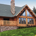 Log Homes Home Manufacturers White Cedar