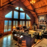 Log Homes Living Room For The Home
